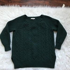 Madewell Green Sweater Size S